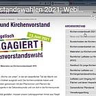 Screenshot der Website kirchenvorstand.ekhn.de