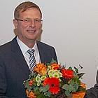 Doppelportrait mit Blumenstrauß