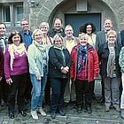 Gruppenbild im Hof des Theologischen Seminars Herborn