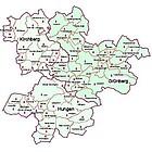Karte der Dekanats-AG Grünberg, Hungen und Kirchberg