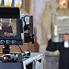 Fernsehgottesdienst mit Kirchenpräsident Volker Jung