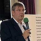 Portrait mit Mikrofon