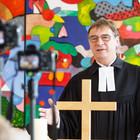 Volker Jung im Online-Schulgottesdienst des Evangelischen Gymnasiums Bad Marienberg