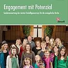 Titelbild mit Überschrift und einer Gruppe von fröhlichen Menschen