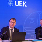 Volker Jung (l.) und Christian Schad bei der digitalen UEK-Konferenz 2021