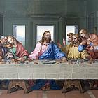 Abendmahl Jesu mit Jüngern