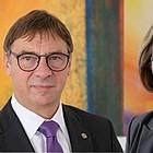 Doppelportrait Volker Jung und Ulrike Scherf