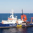 Das Schiff auf hoher See
